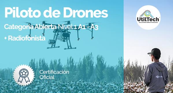 Piloto de Drones radiofonista