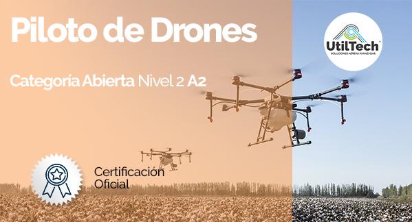 Curso Piloto de drones A2